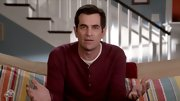 Ty Burrell's hair is kept tidy and parted to the side.