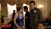 A classic bomber jacket looked casual on David Walton on 'New Girl.'