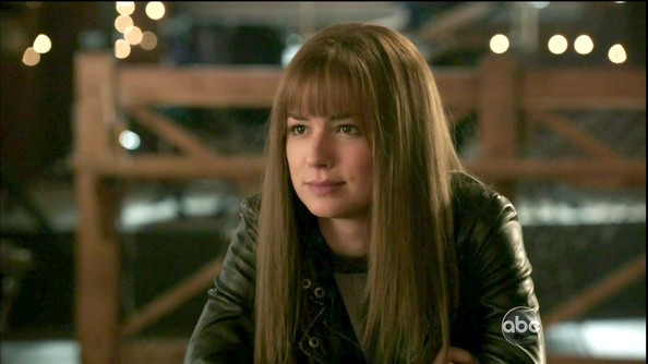 Emily VanCamp Long Straight Cut with Bangs