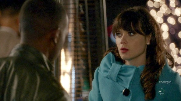 More Pics of Zooey Deschanel Wool Coat (1 of 20) - Zooey Deschanel Lookbook - StyleBistro
