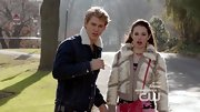 Chloe Bridges was quite the diva in this '80s-inspired fur bomber on 'The Carrie Diaries.'