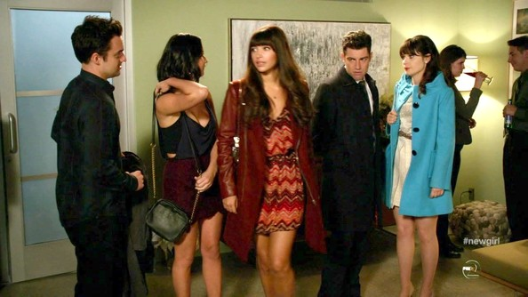 Hannah Simone Wrap Dress