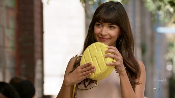 Hannah Simone Quilted Leather []