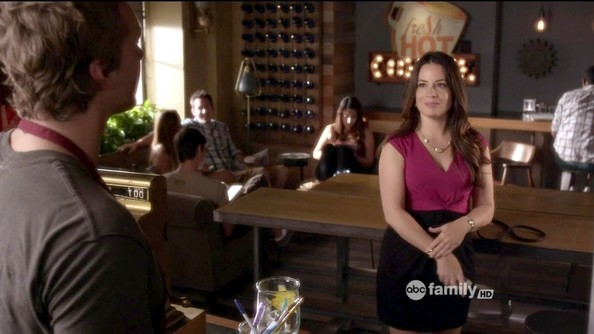 Holly Marie Combs Cocktail Dress