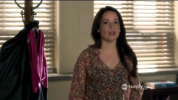 Holly Marie Combs Print Blouse