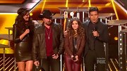 Carly Rose Sonenclar was a little bit country and a little bit Rock'n'Roll on 'The X Factor' in a leather jacket and pants.
