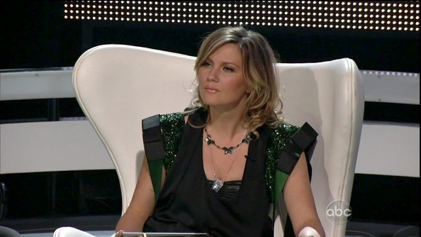 Jennifer Nettles Layered Sterling Necklace