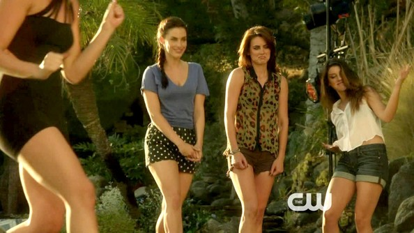 Jessica Stroup Short Shorts