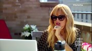 Rachel Zoe donned a pair of over-sized cat eye sunglasses for her boho chic look on 'The Rachel Zoe Project.'