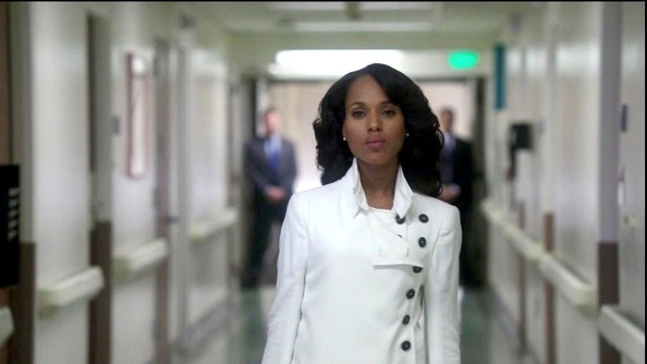 Kerry Washington Trenchcoat