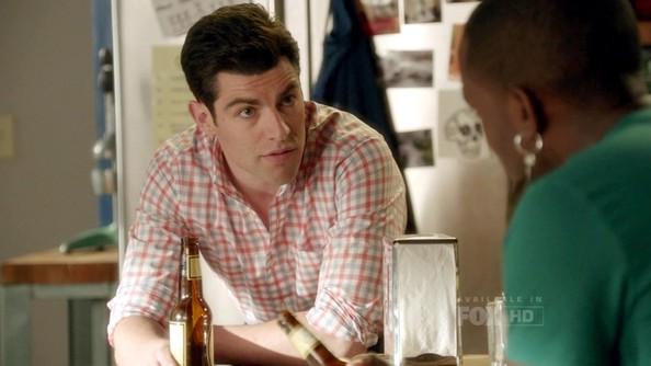 Max Greenfield Button Down Shirt