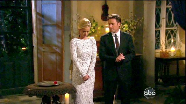 Emily Maynard's Beaded Gown on 'The Bachlorette'