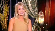 Emily Maynard's curled out waves remind us a bit of a modern day Farrah Fawcett.