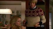Christmas may be over, but that didn't stop Gabriel Mann from getting dekked out in his best holiday sweater.