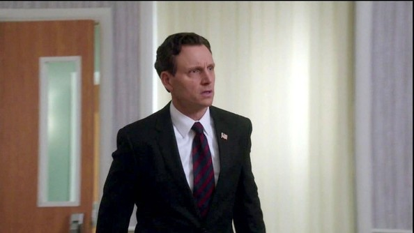 Tony Goldwyn Striped Tie