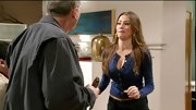 Sofia Vergara once again proved that with a set of killer curves, even a cardigan can look drop dead sexy.
