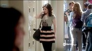 Erica Dasher made a case for stripes on 'Jane by Design' in a darling two-tone skater skirt.