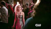 Nothing says the '80s quite like sequins — just ask AnnaSophia Robb who sported this sequined strapless dress on 'The Carrie Diaries.'