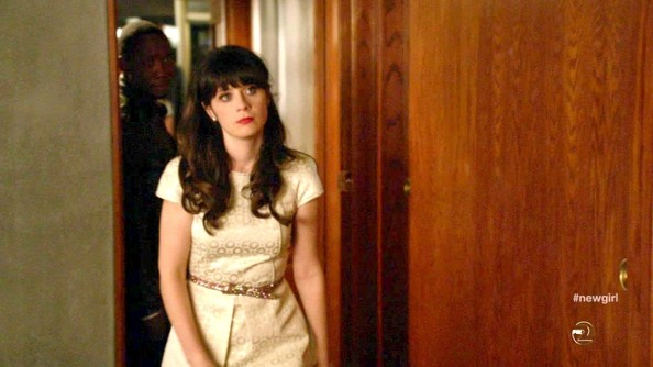Zooey Deschanel Cocktail Dress