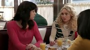 AnnaSophia Rob wore this cute striped crewneck for her casual look on 'The Carrie Diaries.'