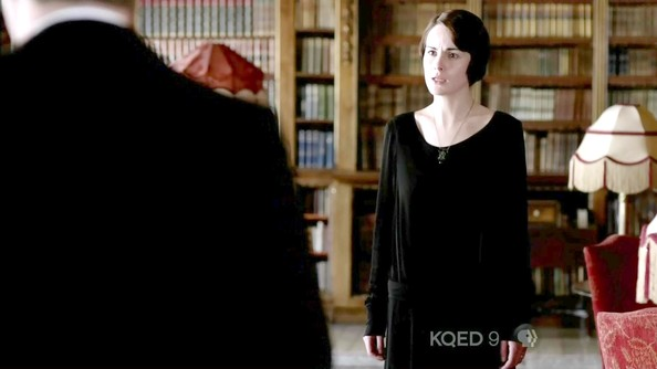 More Pics of Michelle Dockery Wool Coat (1 of 10) - Michelle Dockery Lookbook - StyleBistro