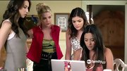 Ashley Benson brightened up her eclectic look on 'Pretty Little Liars' with an unexpected red vest.