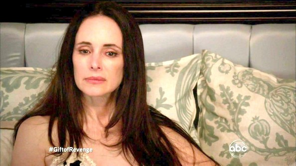 More Pics of Madeleine Stowe V-neck Sweater (1 of 13) - Madeleine Stowe Lookbook - StyleBistro