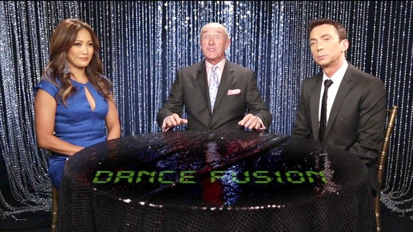Carrie Ann Inaba held it down on 'Dancing With the Stars' in this classy keyhole dress.