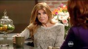 Connie Britton may have opted for a casual look on 'Nashville,' but the star looked totally chic in this snakeskin-print sweater.