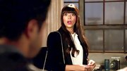 Hannah Simone kept it classy with a simple black blazer in 'New Girl.'