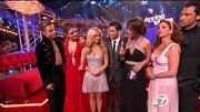 Chelsie Hightower was sparkly perfection on 'DWTS' in a glittery blush dress with a sheer skirt.