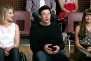 Dianna Agron and Cory Monteith Photo