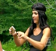 You wouldn't expect Teresa Giudice to add a little boho style to her wardrobe, but on 'The Real Housewives of New Jersey' she did just that with this across-the-forehead hippie headband.