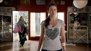 Sutton Foster wears her heart on her shirt on an episode of 'Bunheads.'