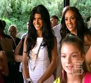 Teresa Giudice gave her LWD an edge with a tiered chain necklace.