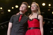 Dianna Agron and Chris Colfer Photo