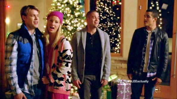 Heather Morris embraced the tribal trend on 'Glee' with this funky open cardigan.