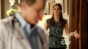 Rachel Bilson kept up her print love on 'Hart of Dixie' in this trendy peplum top.