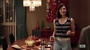 Jessica Pare rocked a striped tank on 'Mad Men.'