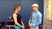 Everyone could stand to add a classic chambray button-down shirt like Derek Hough's to their wardrobe.