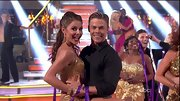 Maria Menounos found plenty of ways to showcase her killer bod on 'DWTS,' including in this flapperesque bra top.