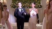 Sofia Black-D'Elia wasn't afraid to make a statement on 'Gossip Girl' in this daring cut-out gown.