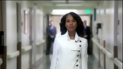 Kerry Washington has the best coat closet on TV, and this chic white double-breasted jacket was no exception.