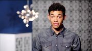 Chambray shirts are the latest on-trend style for men. Clearly, Roshon Fegan is in the know.